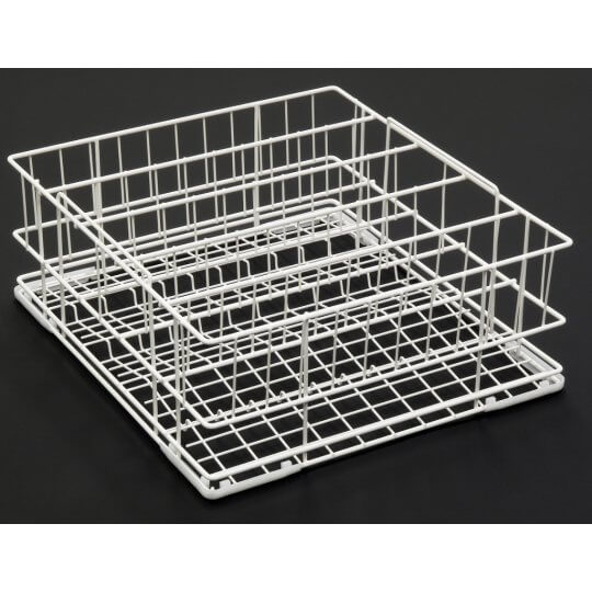 4 Division Tilt Glass Rack 500x500mm