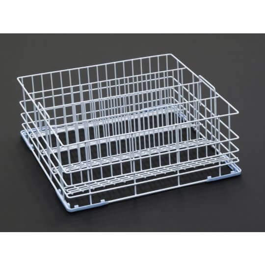 4 Division Tilt Glass Rack 400x400mm