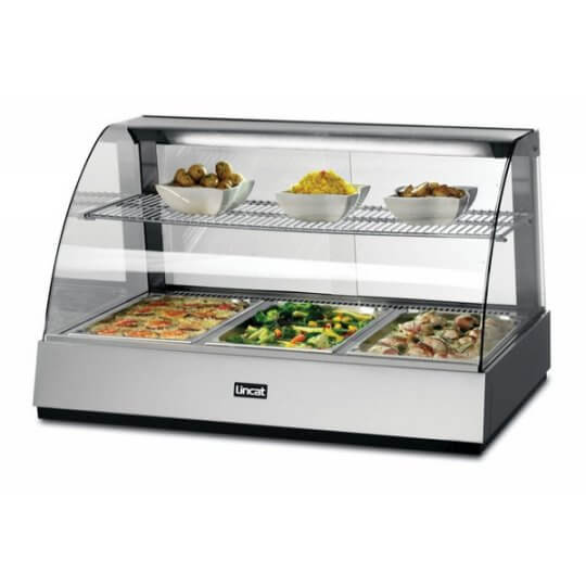 Lincat SCH1085 Curved Front Heated Merchandiser | Eco Catering Equipment