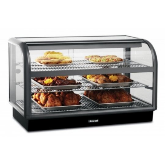 Lincat C6H/100B Curved Front Heated Merchandiser | Eco Catering Equipment