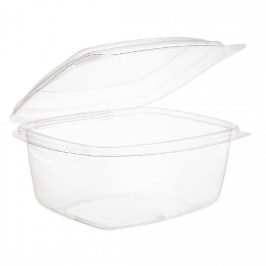 Vegware Compostable PLA Hinged Lid Deli Containers