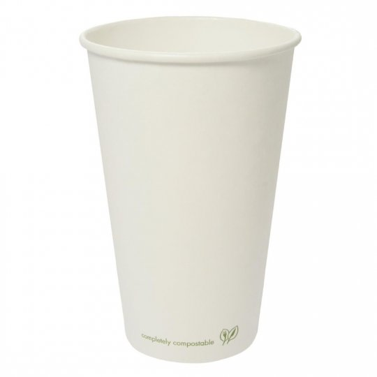 Vegware Single Wall Compostable Hot Cups - 16oz
