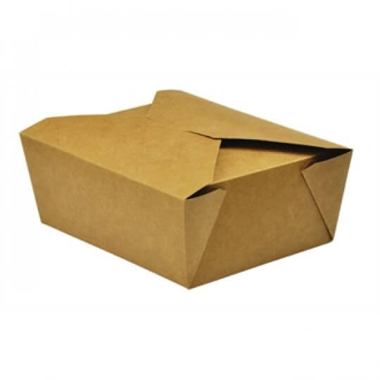 Vegware Compostable Paperboard No.8 Food Cartons