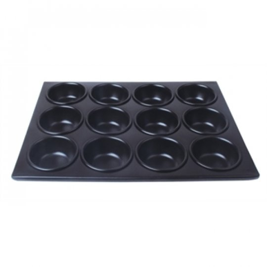 Vogue Non-Stick Aluminium Muffin Tray