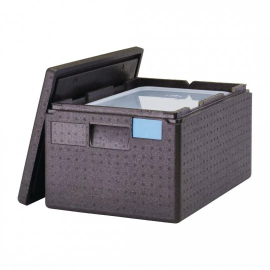 Cambro Insulated Top Loading 43 Litre Food Pan Carrier with GN 1/1 Pan Set