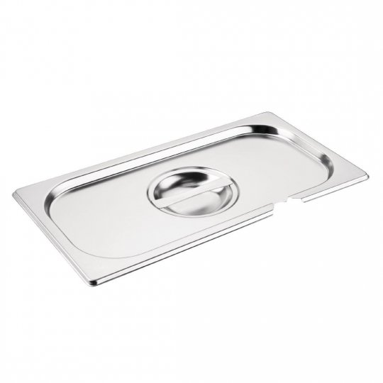 Vogue 1/3 Gastronorm Notched Pan Lid