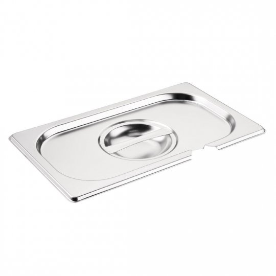 Vogue 1/4 Gastronorm Notched Pan Lid