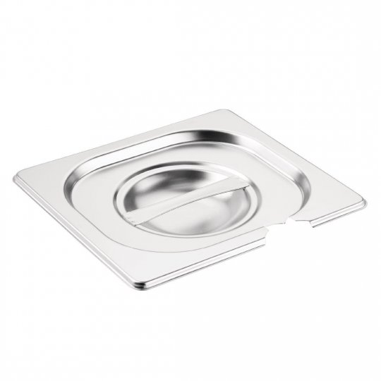 Vogue 1/6 Gastronorm Notched Pan Lid