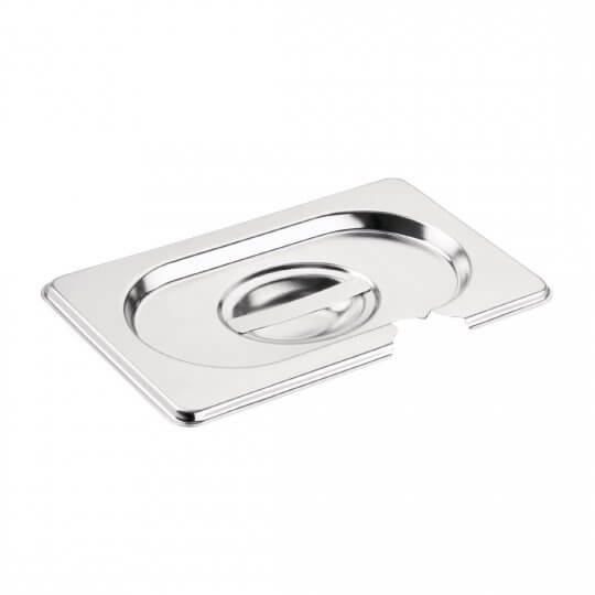 Vogue 1/9 Gastronorm Notched Pan Lid