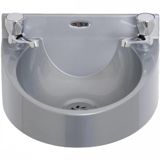 Mechline Basix Grey Polycarbonate Hand Wash Basin