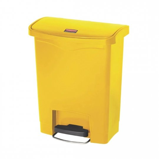 Rubbermaid Yellow 30 Litre Pedal Bin