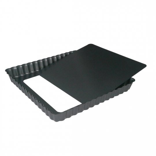 De Buyer Non-Stick Removable Base Tart Mould - 230mm