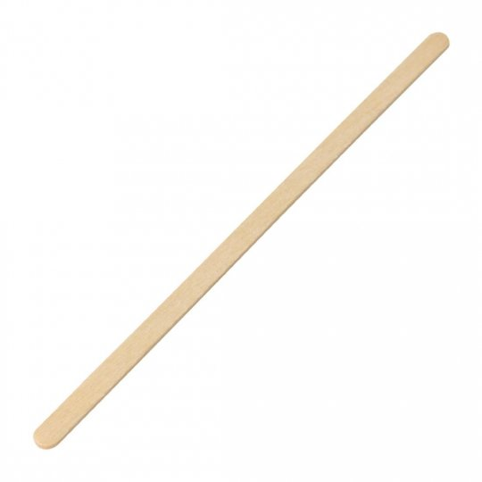 Fiesta Green Biodegradable Wooden Coffee Stirrers