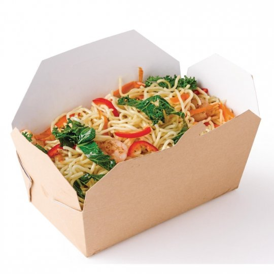 Colpac Recyclable Rectangular Food Cartons