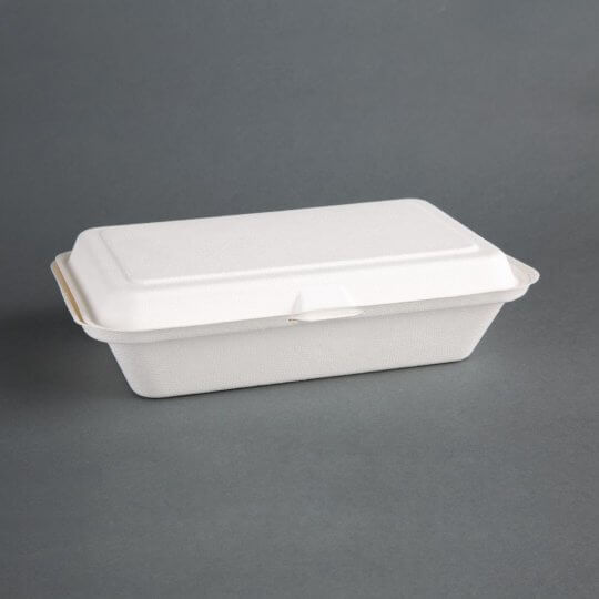 Fiesta Green Compostable Bagasse Box
