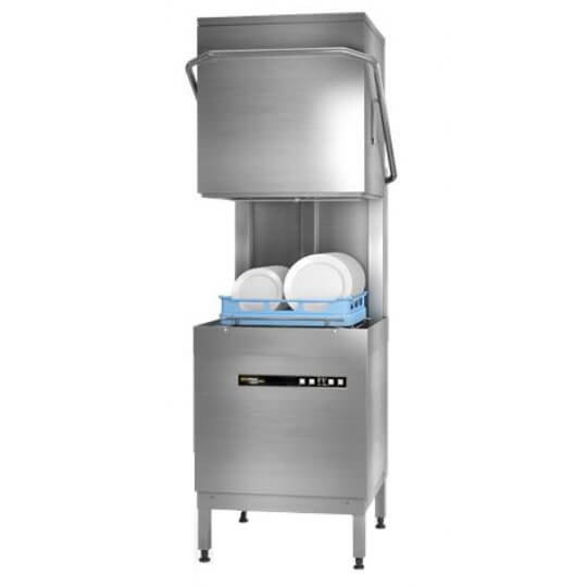 Hobart Ecomax Plus H603S with In-built Softener Hood Dishwasher | Eco Catering Equipment