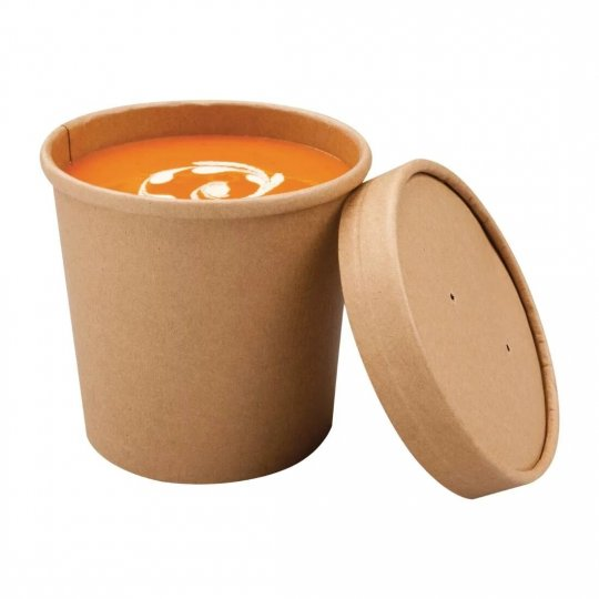 Colpac Recyclable Kraft Soup Cups - 12oz