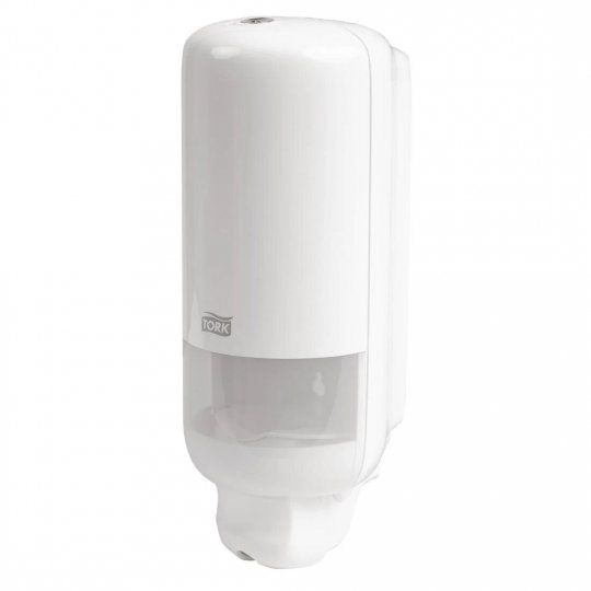 Tork White Liquid and Spray Hand Soap Dispenser