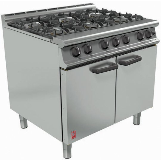Falcon G3101 6 Open Top Gas Burners (Dominator Plus) | Eo Catering Equipment
