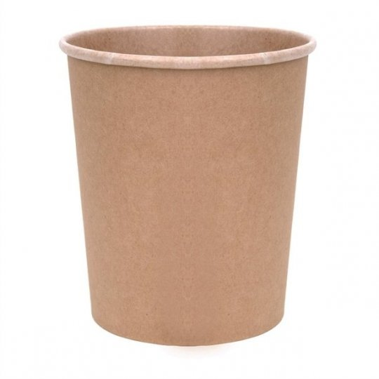 Fiesta Green Compostable Soup Containers - 32oz
