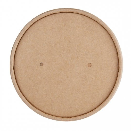Fiesta Green Biodegradable Soup Container Lids