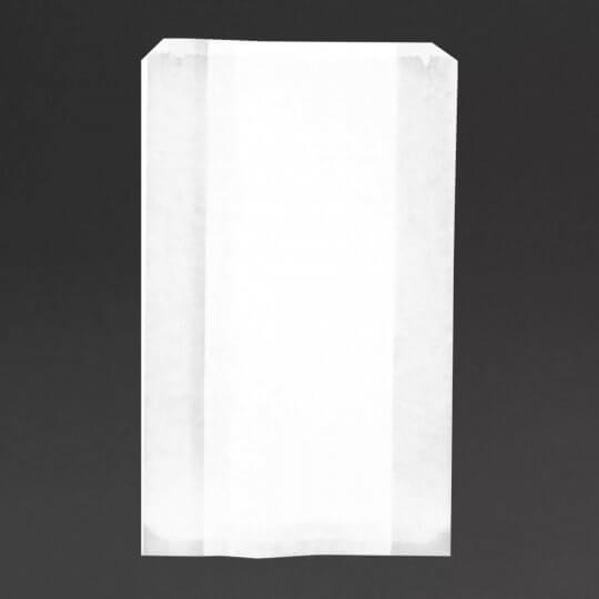 Vegware Compostable Glassine Hot Food Bags with no Window