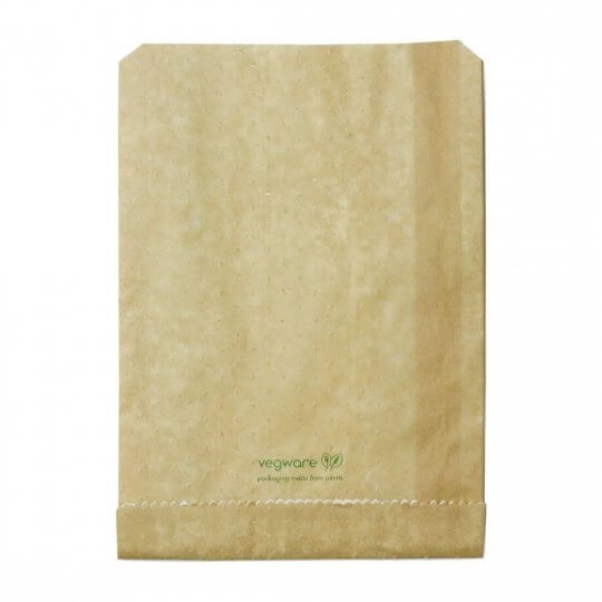 Vegware Compostable Therma Paper Hot Food Bags
