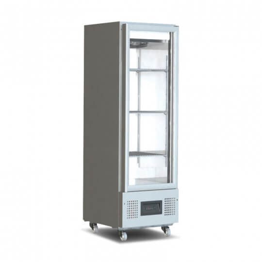 Foster FSL 400G Glass Door Slimline Refrigerator | Eco Catering Equipment