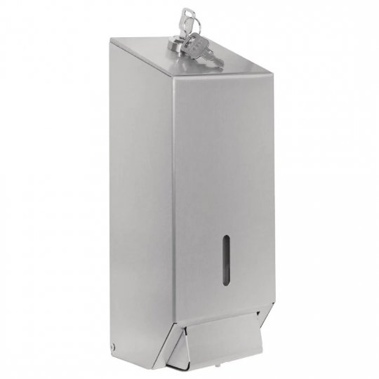 Jantex Stainless Steel Hand Soap Dispenser