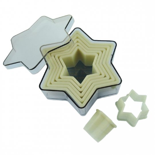 De Buyer Star Cutter Set - Pack of 7