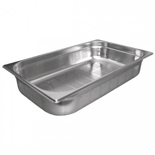 Vogue 1/1 Perforated Gastronorm Pan