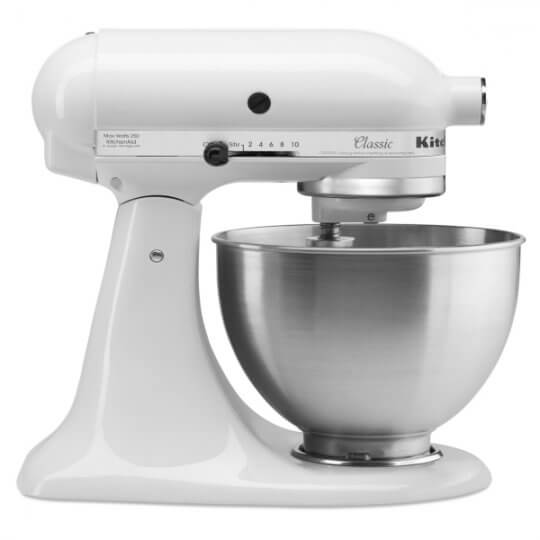 KitchenAid J400 Light Duty Commercial White Mixer | Eco Catering Equipment