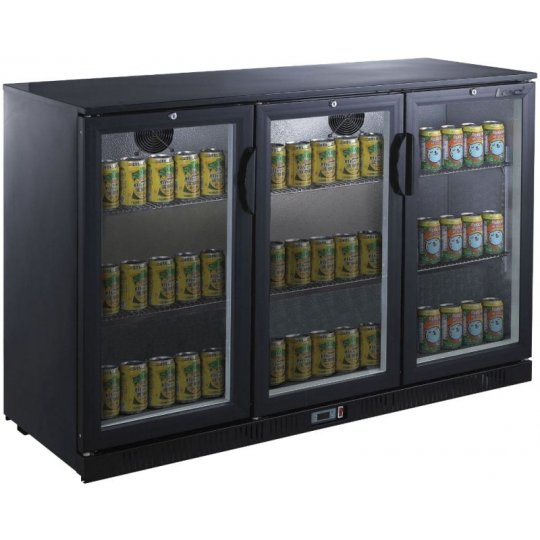 Lec BC12007KLED 3 Door Bottle Cooler | Eco Catering Equipment