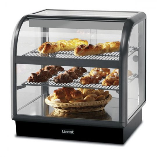 Lincat C6A/75S Curved Front Ambient Merchandiser   Eco Catering Equipment