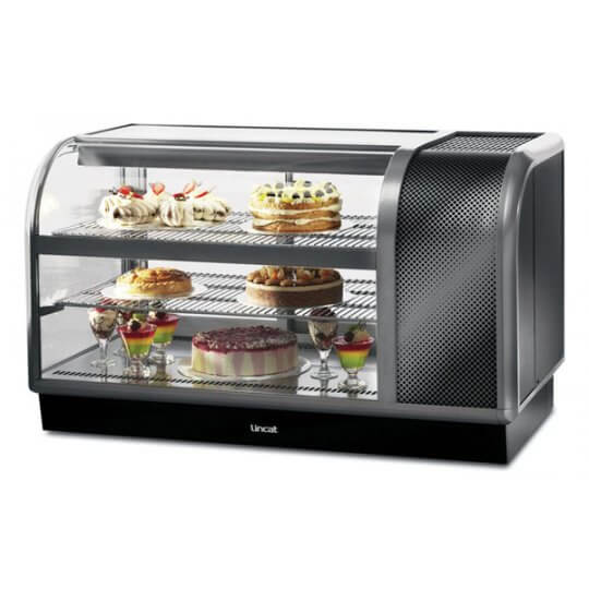 Lincat C6R/130BL Curved Front Refrigerated Merchandiser | Eco Catering Equipment