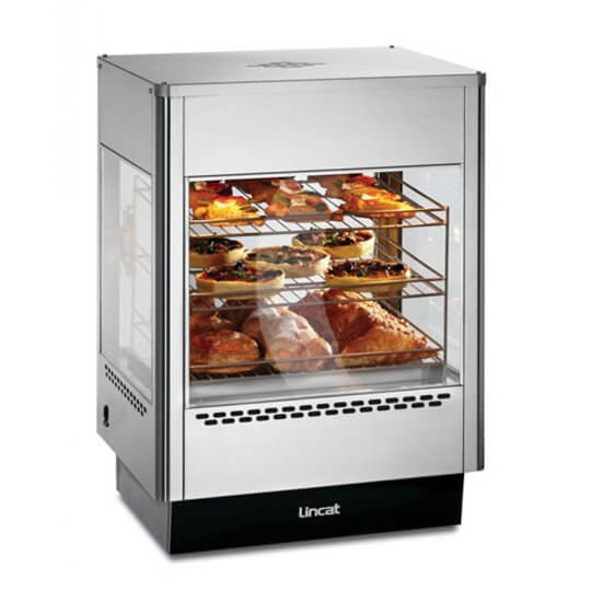 Lincat UMS50 Upright Heated Merchandiser | Eco Catering Equipment