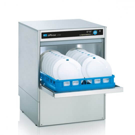 Meiko UPster U500DS Dishwasher with In-built Water Softener (500 x 500 Rack) | Eco Catering Equipment