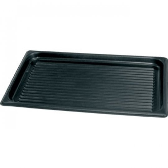 Vogue Ridged Non-Stick Baking Tray - 530mm