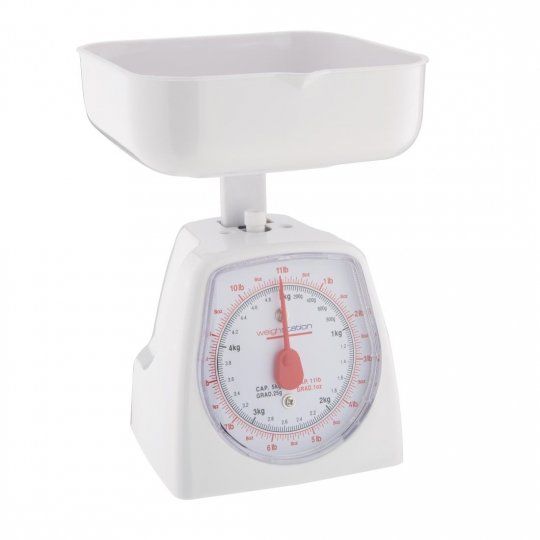 Weightstation Dial Kitchen Scale - 5kg
