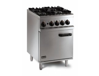 Lincat OG8001 4 Burner Gas Oven Range | Eco Catering Equipment