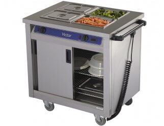 Victor BM40MS Bains Marie Hot Cupboard