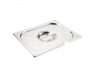 Vogue 1/2 Gastronorm Notched Pan Lid