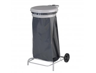 Rossignol Grey Mobile Bin Sack Holder