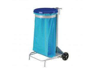 Rossignol Blue Mobile Bin Sack Holder