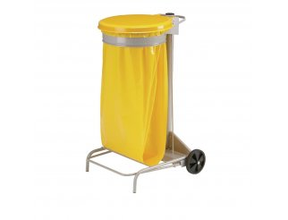 Rossignol Yellow Mobile Bin Sack Holder
