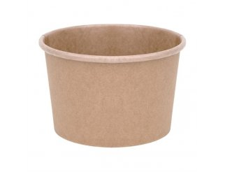 Fiesta Green Compostable Soup Containers - 8oz