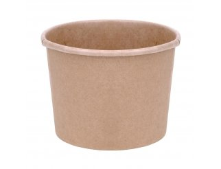 Fiesta Green Compostable Soup Containers - 12oz