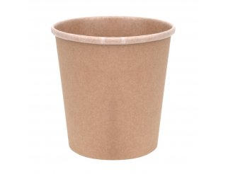 Fiesta Green Compostable Soup Containers - 16oz