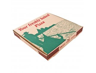 """Compostable Printed Pizza Boxes 14"""""""
