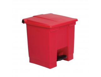 Rubbermaid Red 30.5 Litre Pedal Bin